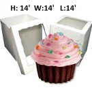 "Giant Cupcake Window Box - 14"" x 14"" x 14"" ($5.50/pc x 25 units)"