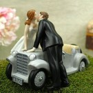 Just Married Couple Wedding Cake Topper
