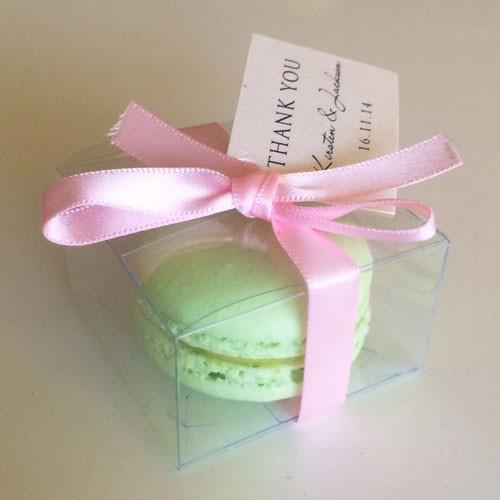 Clear Macaron Box for 1 Macaron($1.00/pc x 25 units)