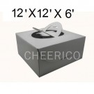 """Cake Boxes with Handle - 12"""" x 12"""" x 6"""" ($2.50/pc x 25 units)"""
