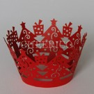 Red Crown Cupcake Wrappers - 12units/pack